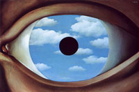 Eye by Magritte