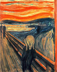 Scream, by Edvard Munch